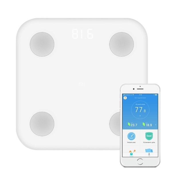 Ζυγαριά Xiaomi Mi Smart Fat Composition Scale 2 λευκό