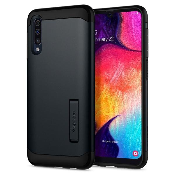 Θήκη Spigen Slim Armor Samsung Galaxy A50s / Galaxy A50 / Galaxy A30s Metal Slate μαύρο