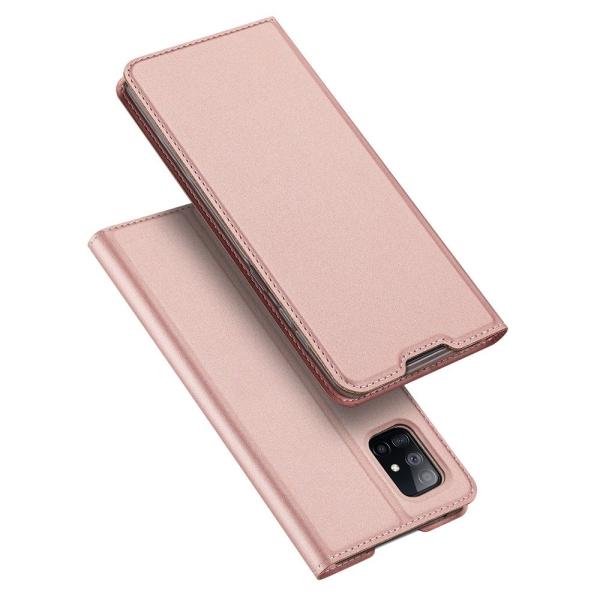 Θήκη DUX DUCIS Skin Pro τύπου book για Samsung Galaxy A51 ροζ