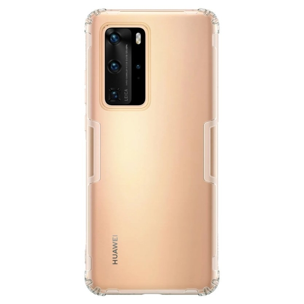 Θήκη πλάτη Nillkin Nature TPU Gel Ultra Slim για  Huawei P40 Pro διάφανο