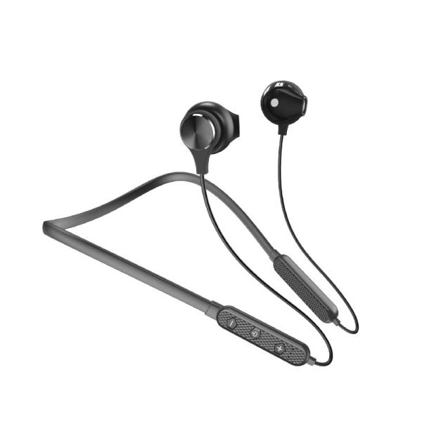 Dudao ασύρματα ακουστικά  για τον λαιμό  Wireless Earphone Bluetooth (U5 Plus black) μαύρο