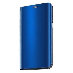 Θήκη Clear View Mirror book για Xiaomi Redmi 10X 4G / Xiaomi Redmi Note 9 μπλε