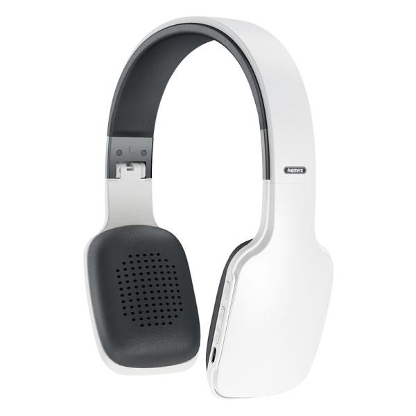 Remax ασύρματα ακουστικά Wireless Bluetooth Headphones 300 mAh μαύρο λευκό