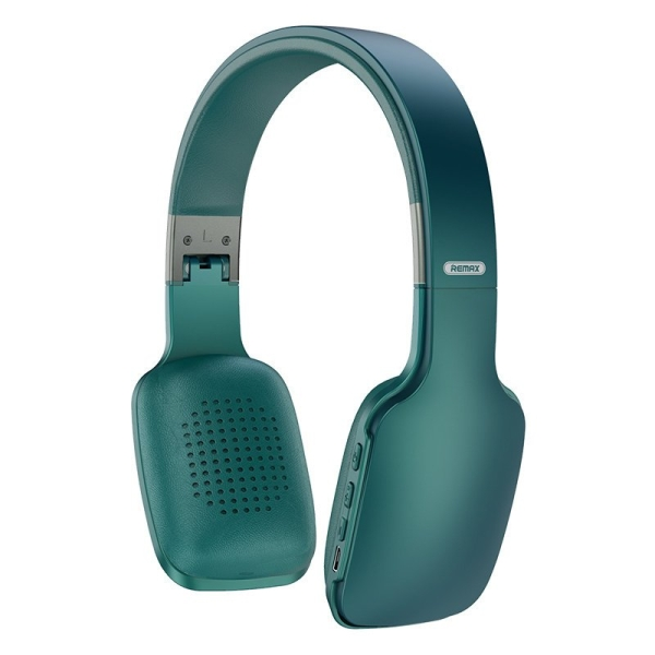 Remax ασύρματα ακουστικά Wireless Bluetooth Headphones 300 mAh μαύρο μπλε