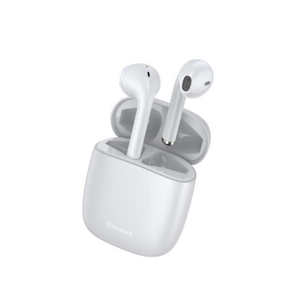 Ασύρματα ακουστικά Baseus TWS Encok True Wireless Earphones W04 (NGW04-02) λευκό